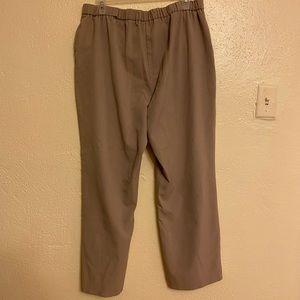 Khaki Dana Buchman Pants